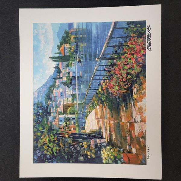 """Sunlit Stroll"" by Howard Behrens - Signed, Numbered, & Embellished"