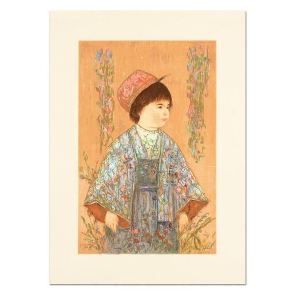 "Edna Hibel (1917-2014), ""Festival Day"" Limited Edition Lithograph, Numbered and"