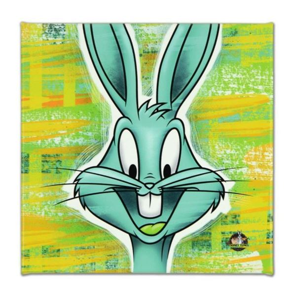 "Looney Tunes, ""Bugs Bunny"" Numbered Limited Edition on Canvas with COA. This pie"