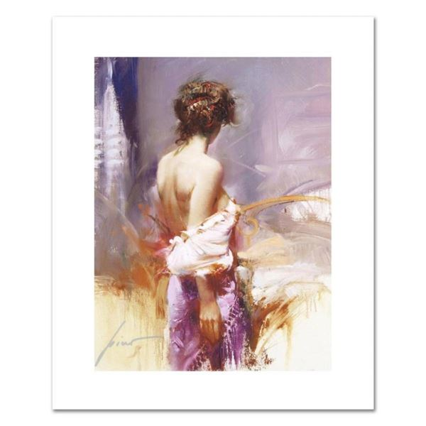 """Pino (1931-2010), """"Twilight"""" Limited Edition on Canvas, Numbered and Hand Signed"""