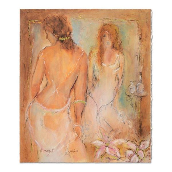 """Batia Magal, """"Femininity"""" Limited Edition Serigraph, Numbered and Hand Signed wi"""