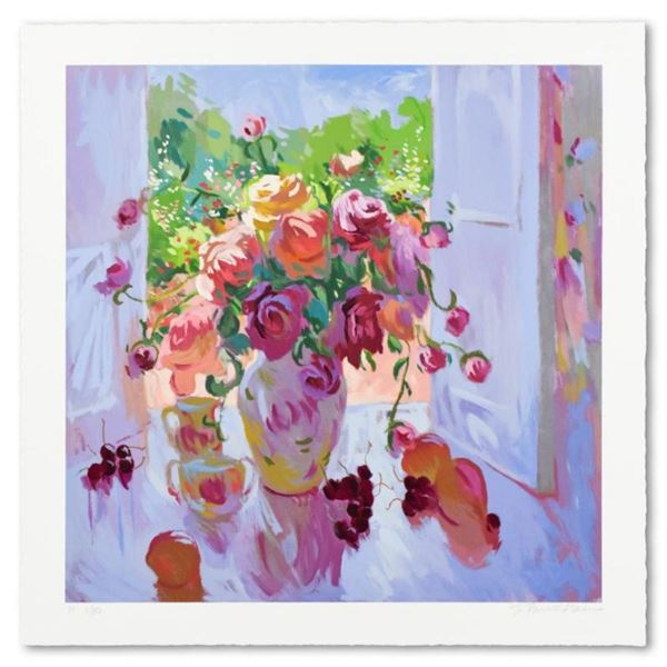"""S. Burkett Kaiser, """"Bouquet With Cherries"""" Limited Edition, Numbered and Hand Si"""