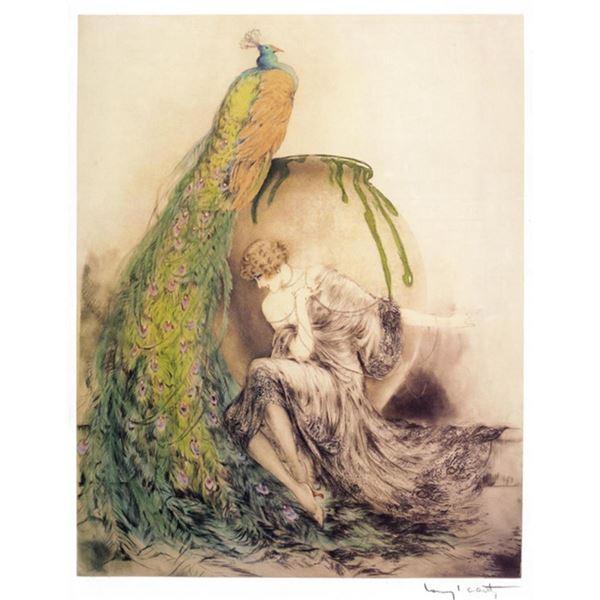 Louis Icart - Peacock