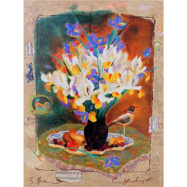Alexander & Wissotzky Iris Bouquet III