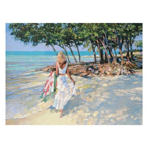 """Howard Behrens (1933-2014), """"My Beloved"""" Limited Edition on Canvas, Numbered and"""