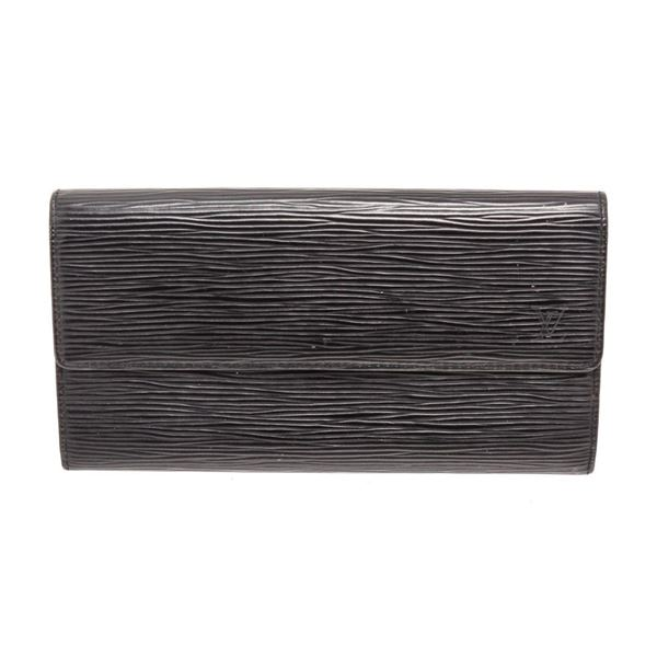 Louis Vuitton Black Sarah Wallet