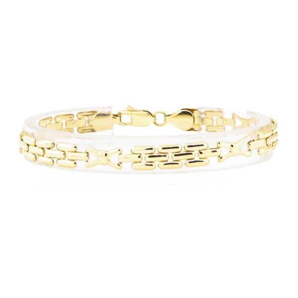 Link Bracelet - 18KT Yellow Gold