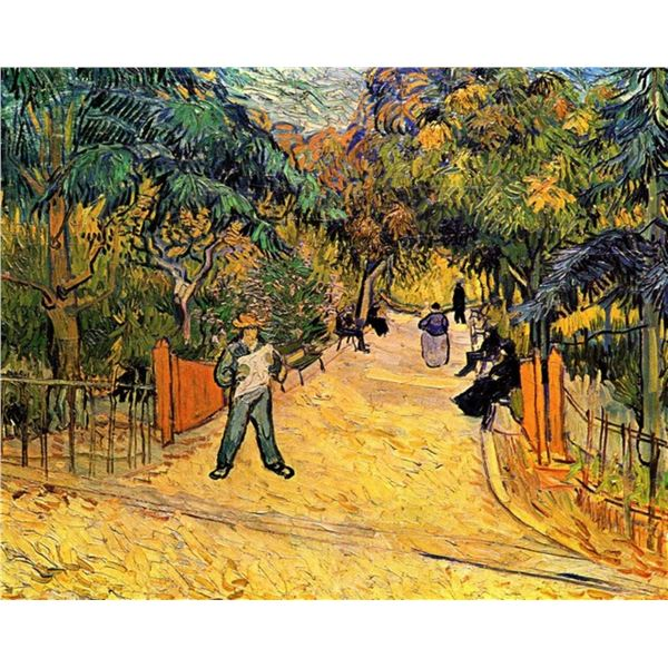 Van Gogh - Entrance To The Public Park In Arles