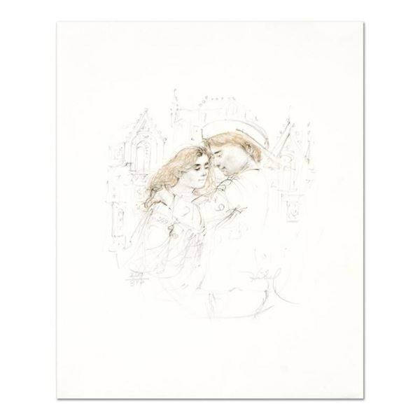 "Edna Hibel (1917-2014), ""Roberta and Roberto"" Limited Edition Lithograph with Re"