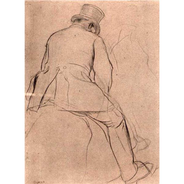 Edgar Degas - Rider