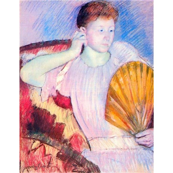 Mary Cassatt - Lady With Fan