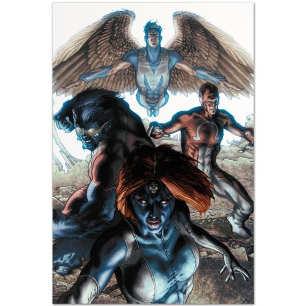 "Marvel Comics ""Dark X-Men #1"" Numbered Limited Edition Giclee on Canvas by Simon"