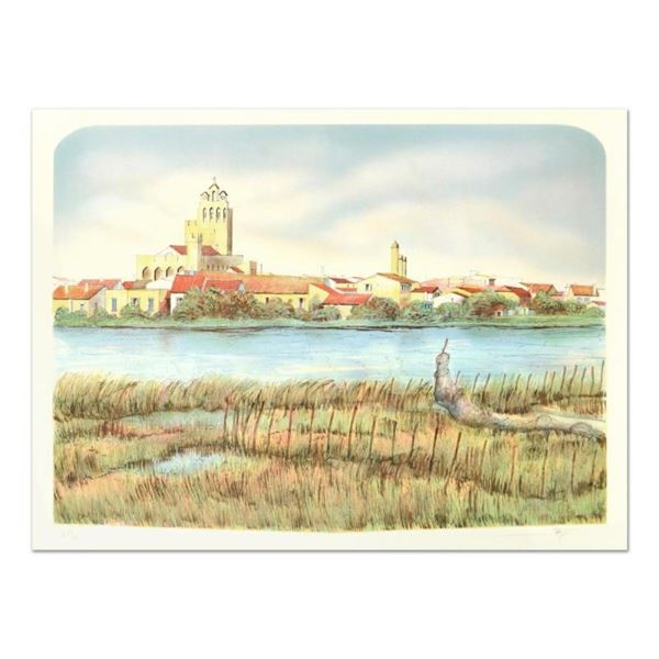 "Rolf Rafflewski, ""Les Saintes Mariel"" Limited Edition Lithograph, Numbered and H"