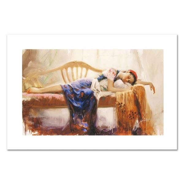 "Pino (1931-2010), ""At Rest"" Limited Edition on Canvas, Numbered and Hand Signed"