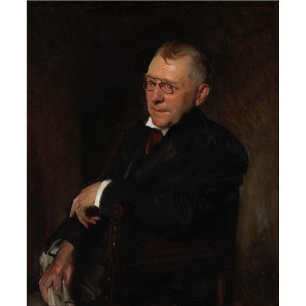 Sargent - Portrait of James Whitcomb Riley