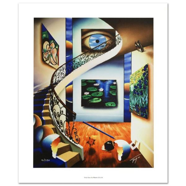"""Eye of a Master"" Limited Edition Giclee on Canvas by Ferjo, Numbered and Hand S"