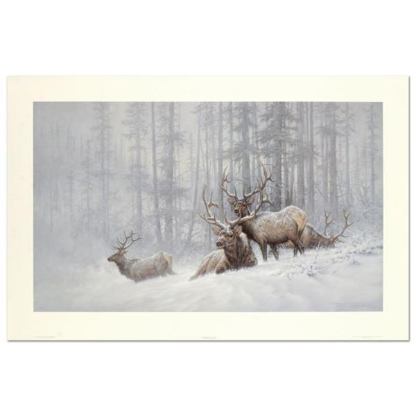 "Larry Fanning (1938-2014), ""Mountain Majesty - Bull Elk"" Limited Edition Lithogr"