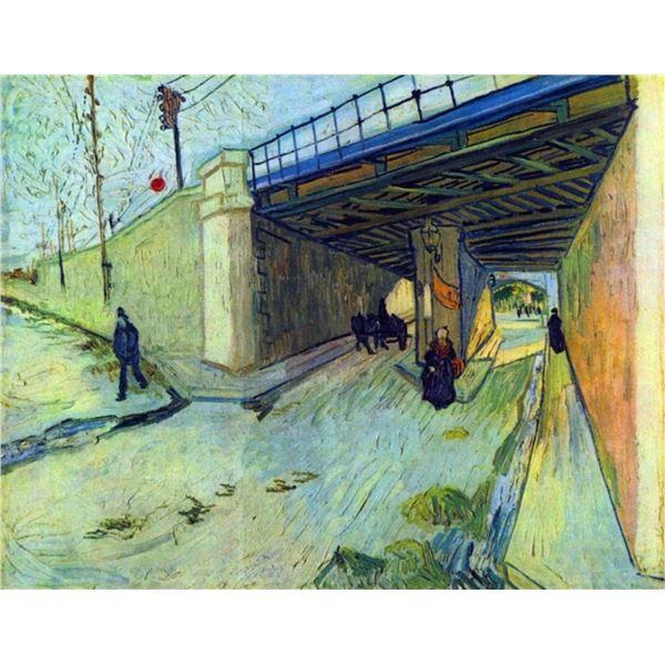 Van Gogh - Railway Bridge On The Road To Tarascon