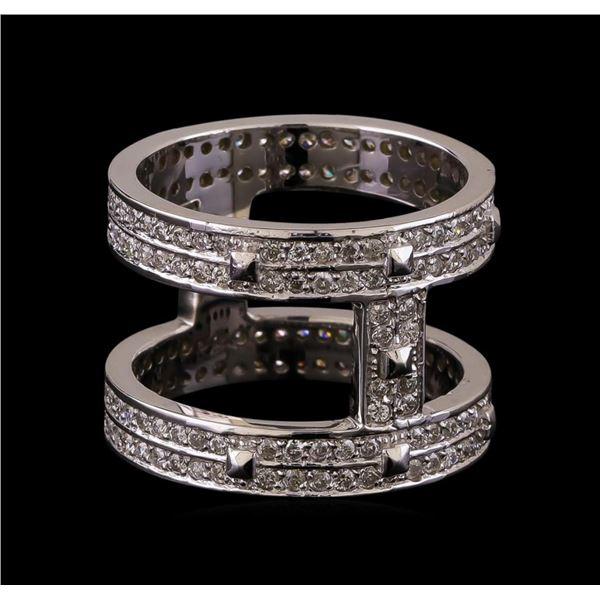 14KT White Gold 0.42 ctw Diamond Ring