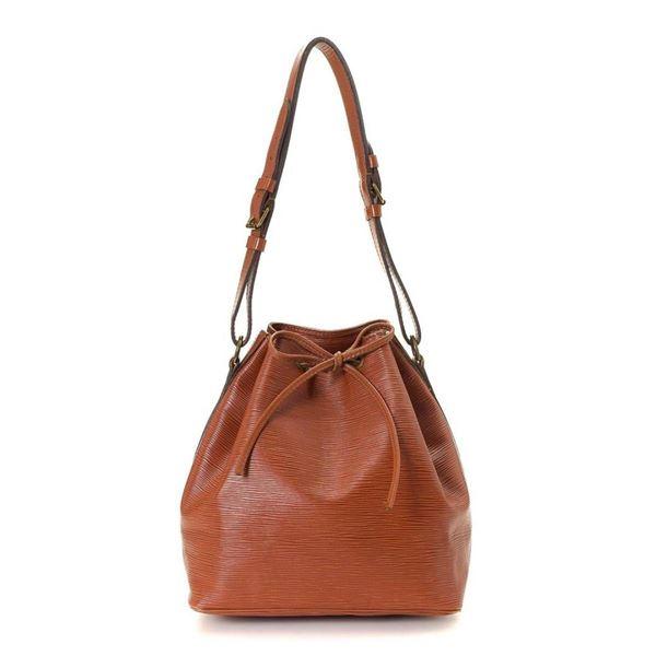 Louis Vuitton Gold Epi Leather Petit Noe Shoulder Bag