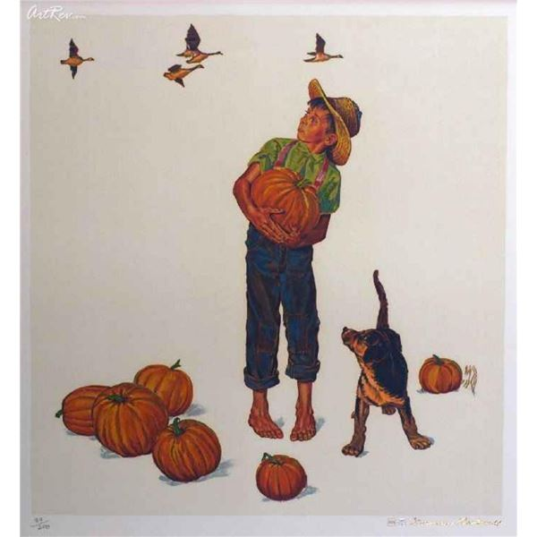 "Norman Rockwell ""Autumn Harvest (Encore Edition)"""