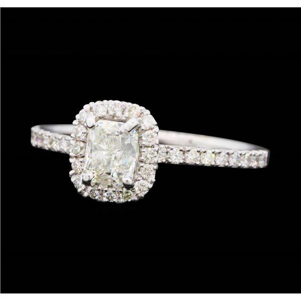 14KT White Gold 1.01 ctw Diamond Wedding Ring
