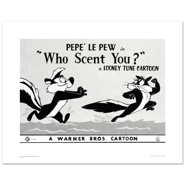 """""""Who Scent You"""" Limited Edition Giclee from Warner Bros., Numbered with Hologram"""