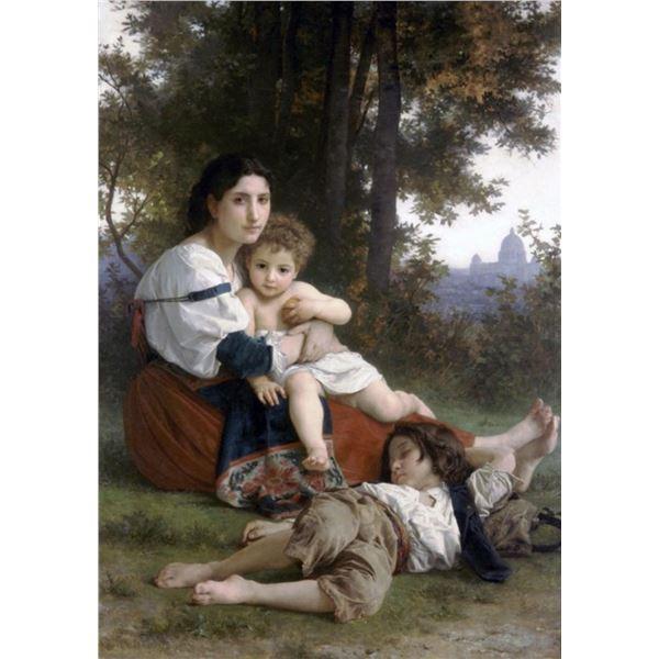 William Bouguereau - Rest