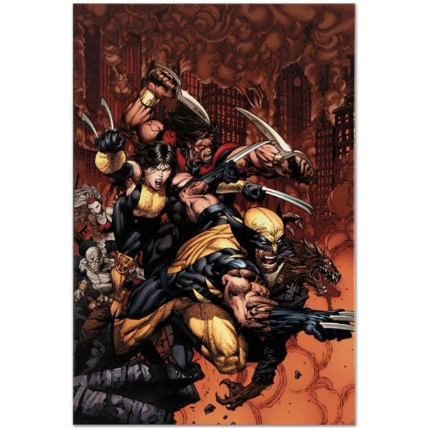 "Marvel Comics ""X-Factor #26"" Numbered Limited Edition Giclee on Canvas by David"