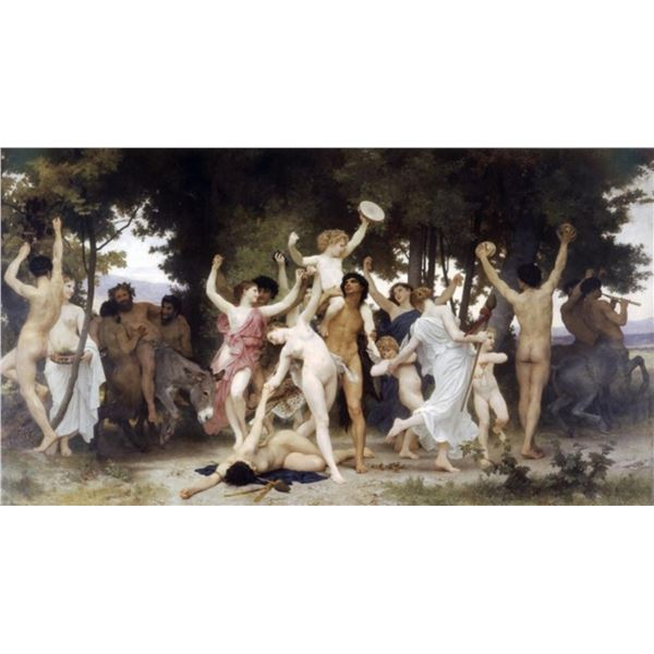 William Bouguereau - The Youth of Bacchus