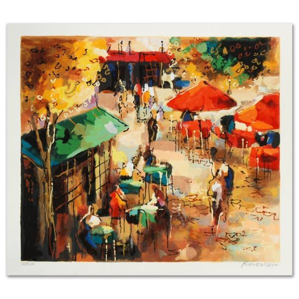 """Street Scene"" Limited Edition Serigraph by Michael Rozenvain, Hand Signed with"