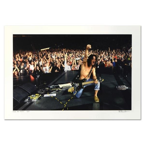 "Rob Shanahan, ""Eddie Van Halen"" Hand Signed Limited Edition Giclee with Certific"