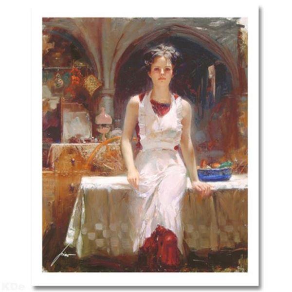 "Pino (1939-2010) ""Deborah Revisited"" Limited Edition Giclee. Numbered and Hand S"