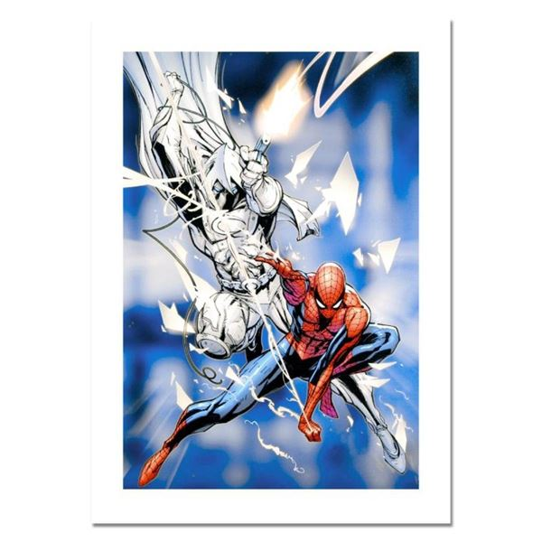 "Marvel Comics, ""Vengeance of the Moon Knight #9"" Numbered Limited Edition Canvas"