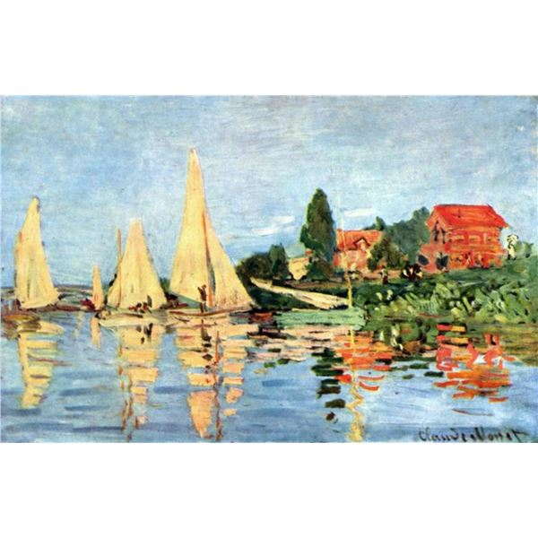 Claude Monet - Regatta at Argenteuil