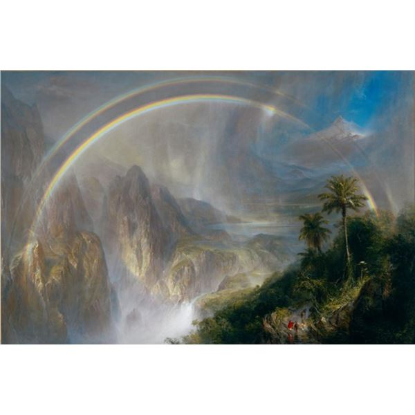Frederic Edwin Church - Rainy Season in the Tropics