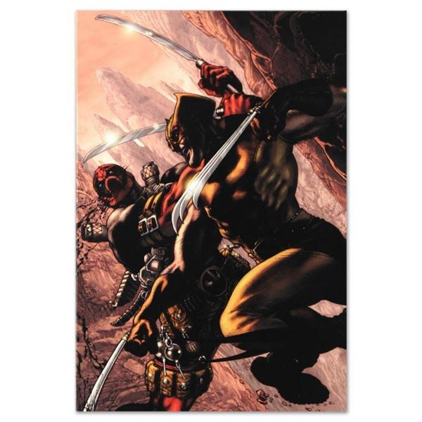 "Marvel Comics ""Wolverine: Origins #21"" Numbered Limited Edition Giclee on Canvas"