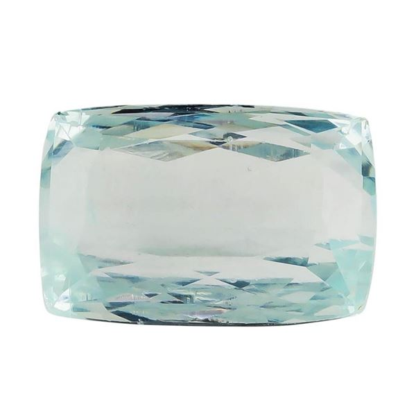 7.45 ct.Natural Rectangle Cushion Cut Aquamarine