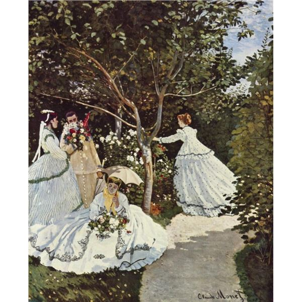 Claude Monet - Women in the Garden