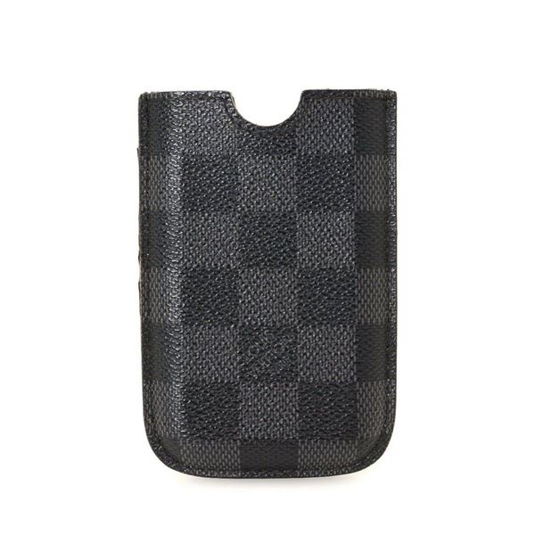 Louis Vuitton Black Graphite Canvas iPhone Case (3G)