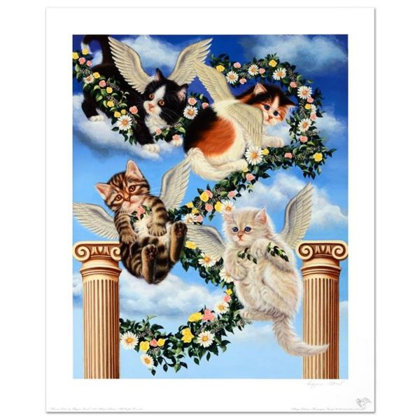 """Heaven Sent"" Limited Edition Lithograph by Barbara Higgins-Bond. Numbered and H"