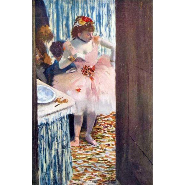 Edgar Degas - Dancer In The Loge