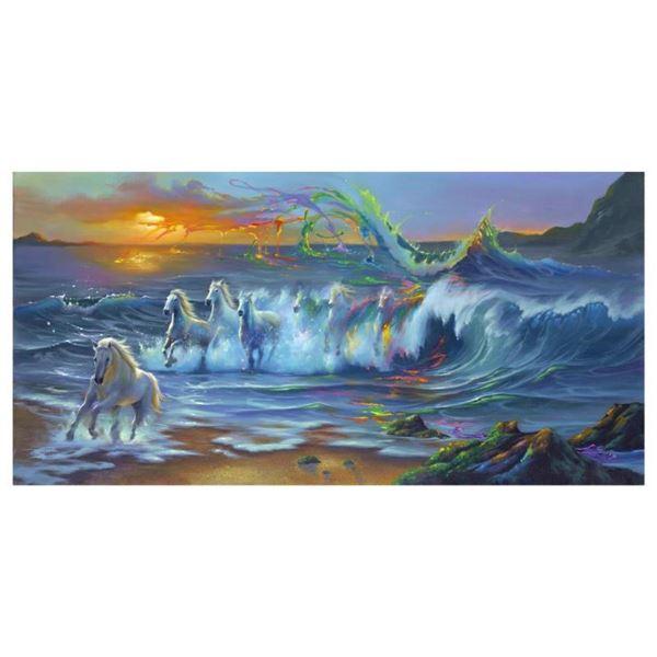 """Jim Warren, """"Living Color"""" Hand Signed, Artist Embellished AP Limited Edition Gi"""