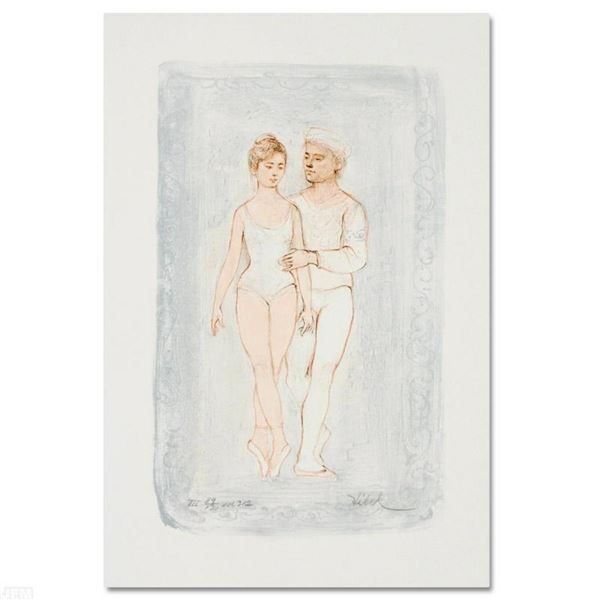 """Prelude"" Limited Edition Lithograph by Edna Hibel (1917-2014), Numbered and Han"