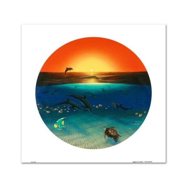 """Warmth of the Sea"" Limited Edition Giclee on Canvas by renowned artist WYLAND,"