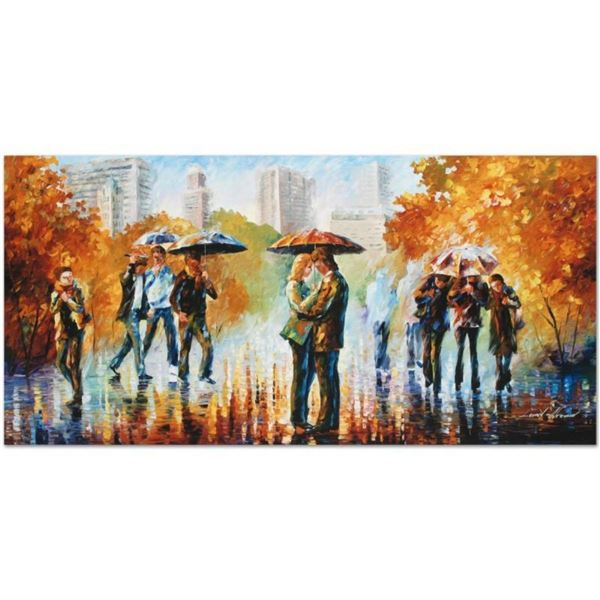 "Leonid Afremov (1955-2019) ""Simple Times"" Limited Edition Giclee on Canvas, Numb"