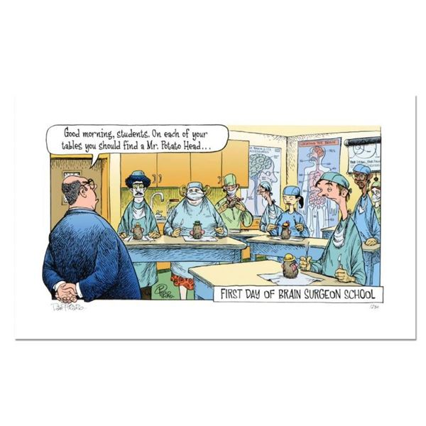 "Bizarro! ""Brain Surgeon School"" Numbered Limited Edition Hand Signed by creator"