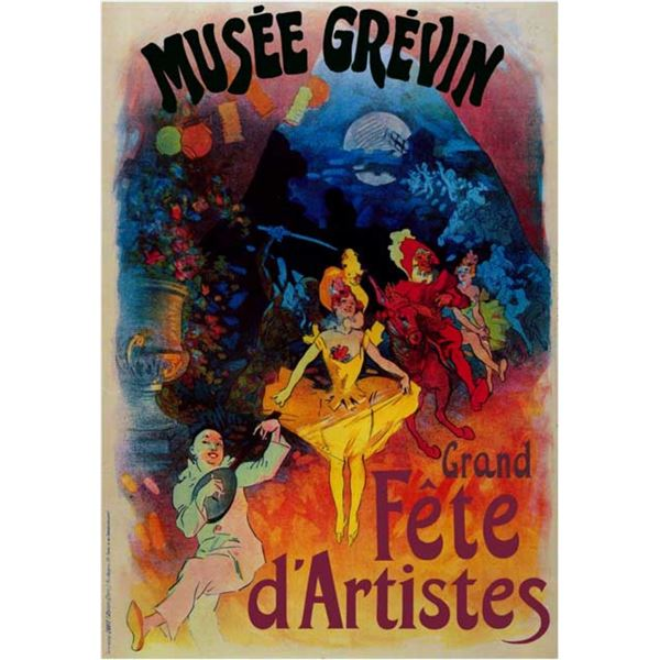 Jules Cheret - Musee Grevin-Grand