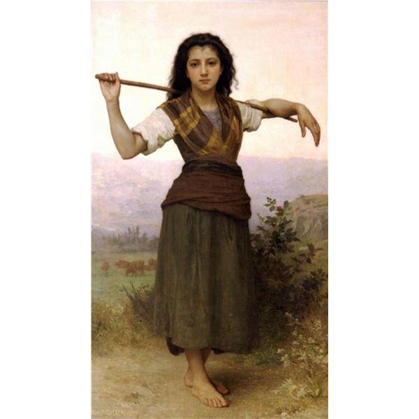 William Bouguereau - The Shepherdess