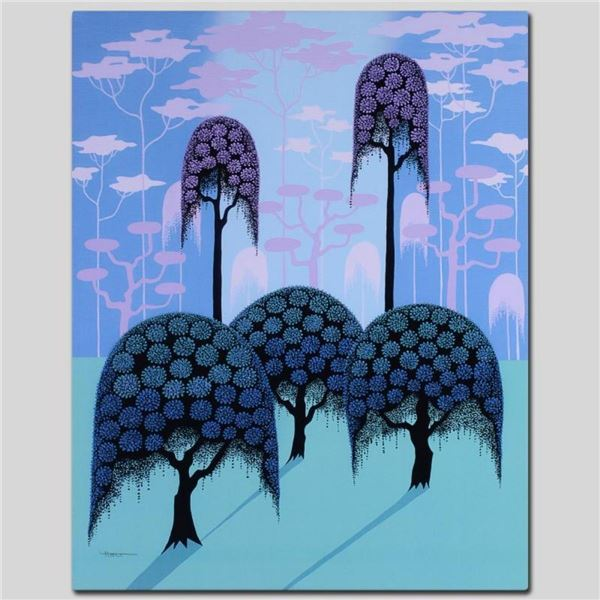 """Veiled Forest"" Limited Edition Giclee on Canvas by Larissa Holt, Numbered and S"